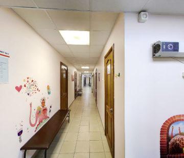 Клиника Доверие, коридор